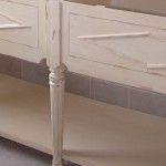 patine meuble usée