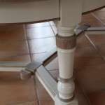 TABLE OVALE DETAIL